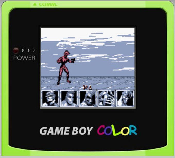 JS GameBoy Color Game Center