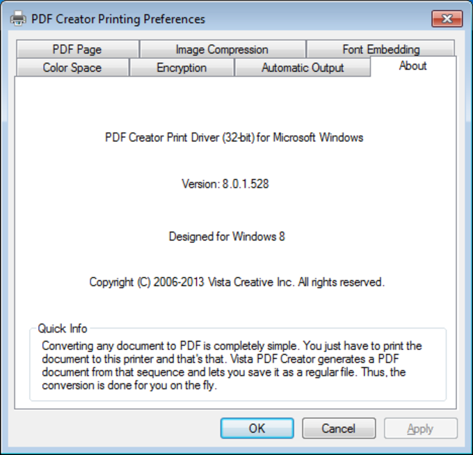 PDF Creator Pro for Windows 10