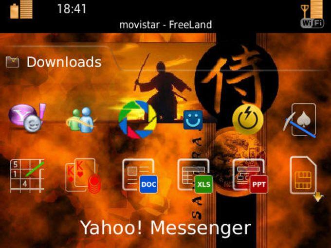Samurai Bold 9700 Theme
