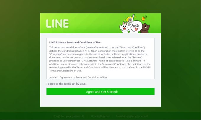 LINE for Windows 10