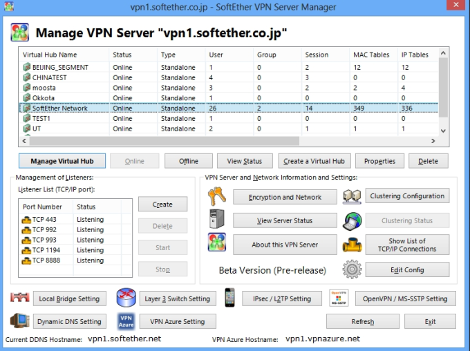SoftEther VPN Client