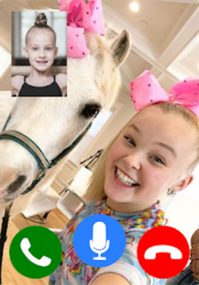 Call Video From Jojo Siwa