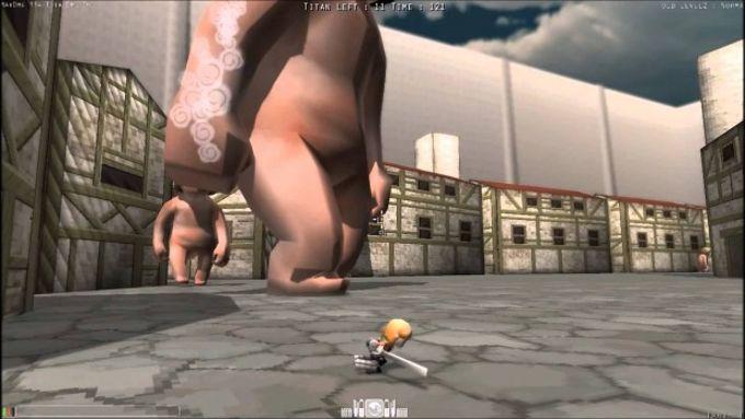 Attack on Titan Tribute Game