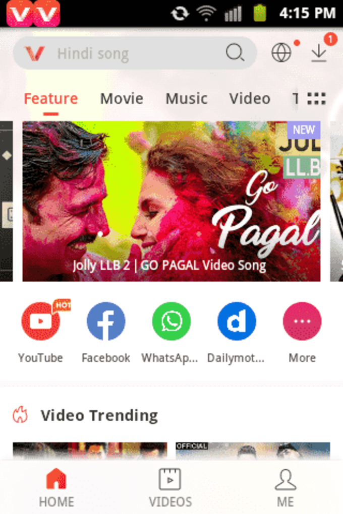 facebook video download android app
