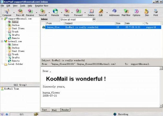 KooMail