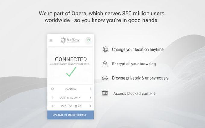 SurfEasy VPN - Security, Privacy, Unblock