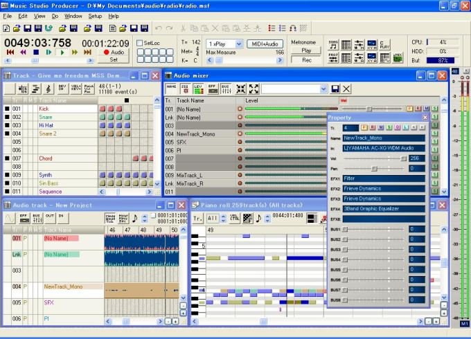 Music Studio Producer