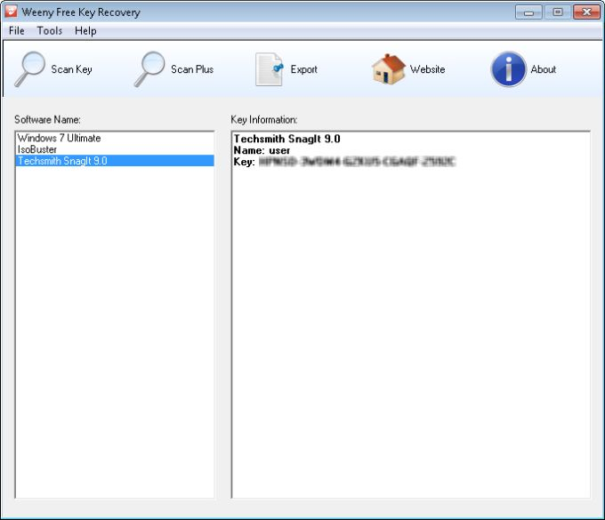 Free Key Recovery Download