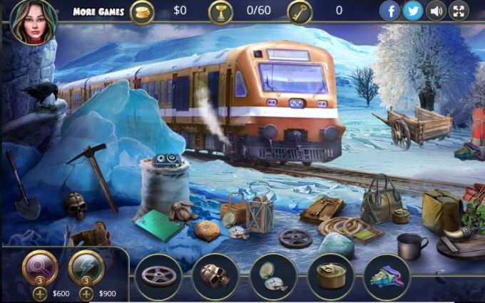 Hidden Objects: Ghost Train