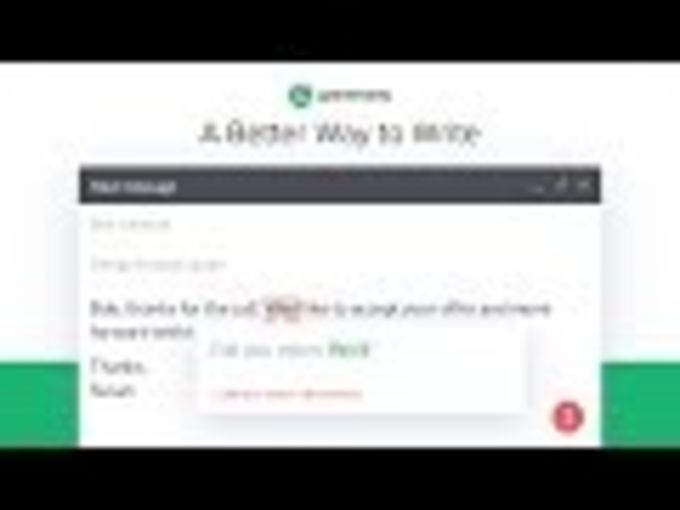 Grammarly for Chrome