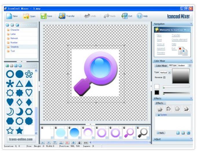 PDF Icon Maker - IconCool Mixer
