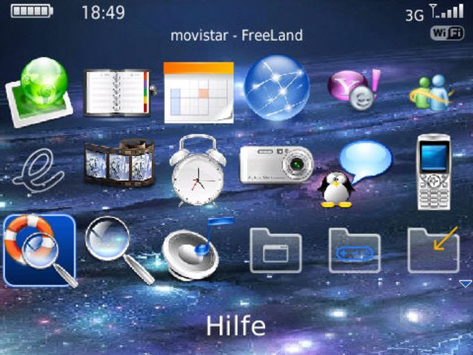 Galaxy Bold 9700 Theme