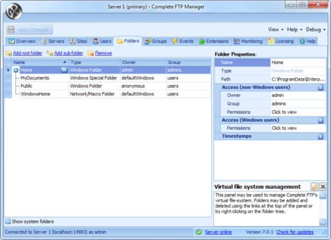 CompleteFTP - Download