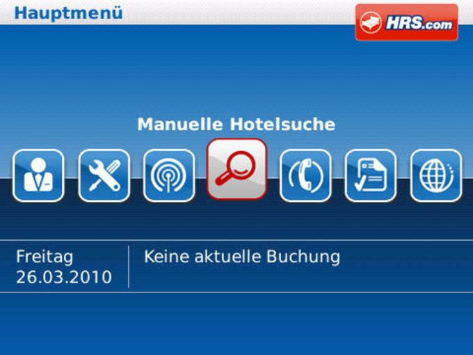 HRS Hotel Organizer