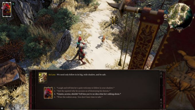 Divinity: Original Sin 2 - Companion: Sir Lora the Squirrel
