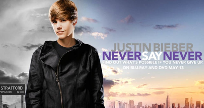 Justin Bieber: Never Say Never Wallpaper