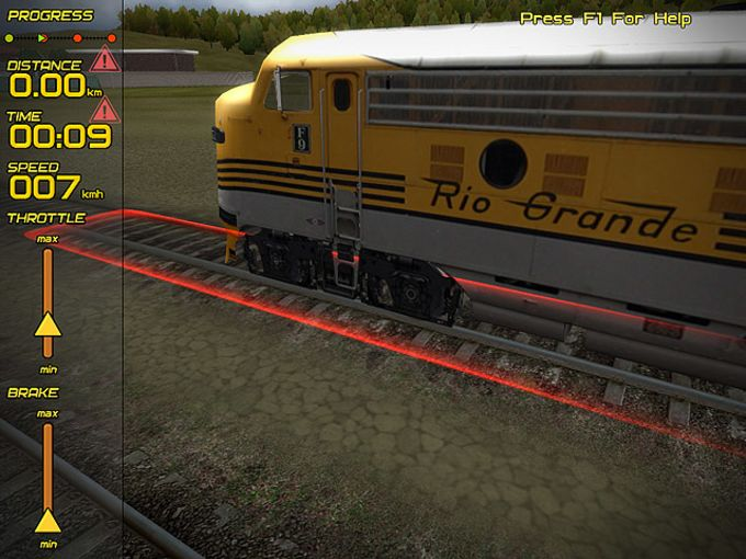 Passenger Train Simulator