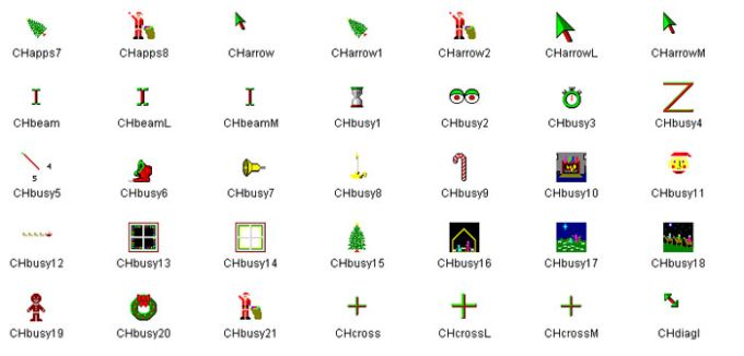 Christmas Animated Cursors