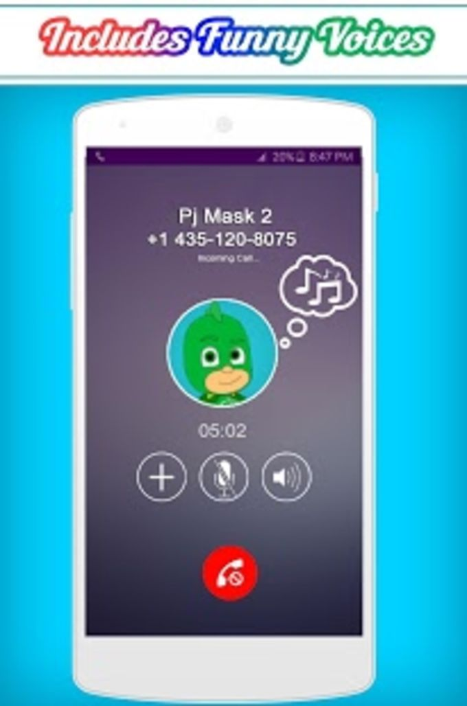 Call From The Pj Masks