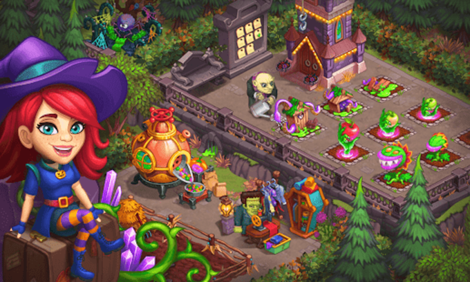 Monster Farm Happy Halloween Game  Ghost Village Unreleased
