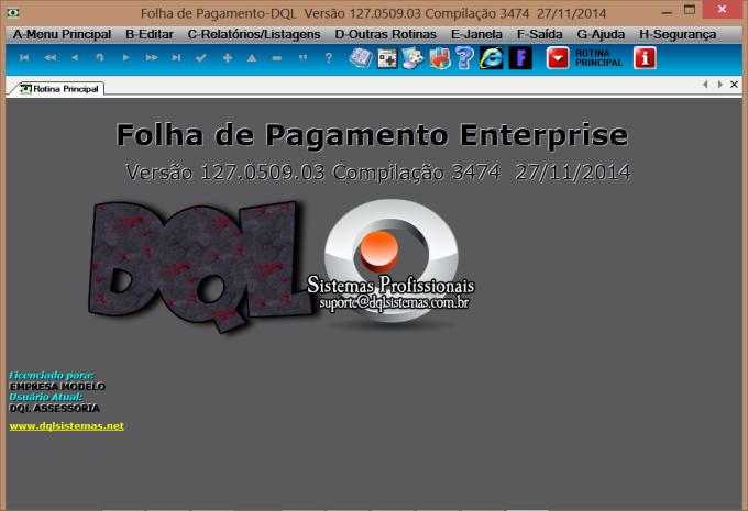 FOLHA DE PAGAMENTO-DQL