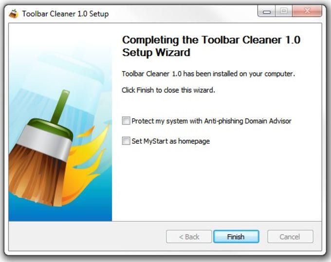 Toolbar Cleaner
