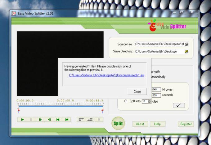 Easy Video Splitter