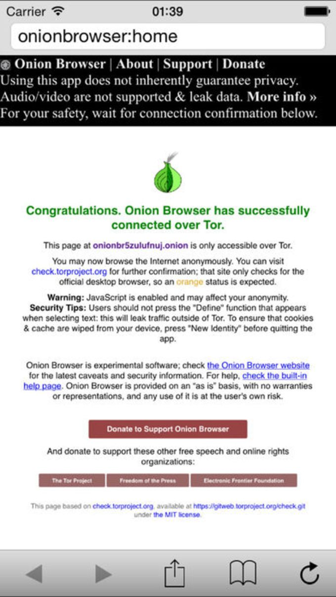 Red Onion - Tor Browser