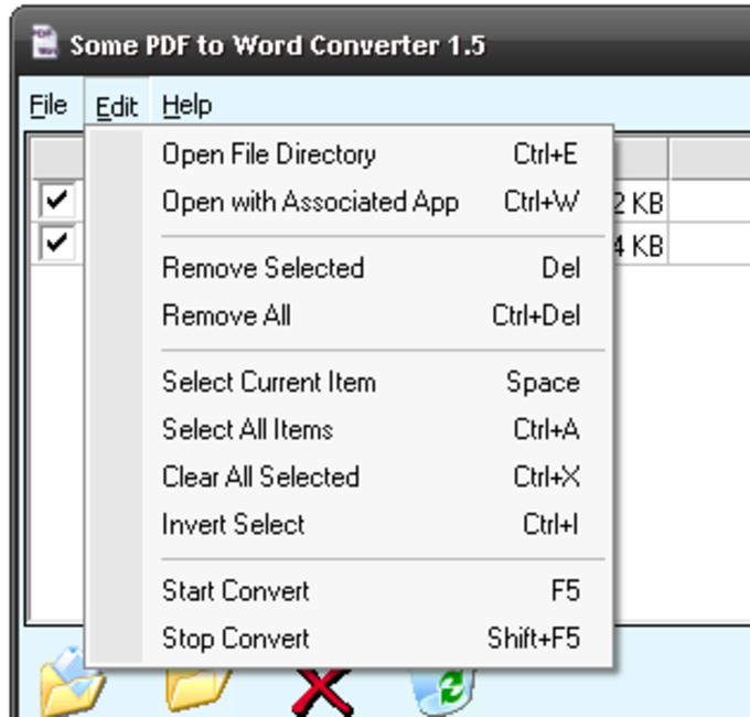 Some PDF to Word Converter