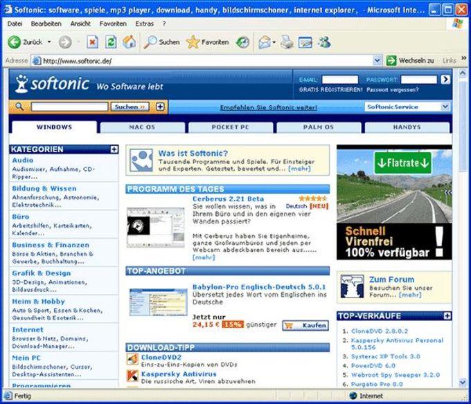 Internet Explorer 6