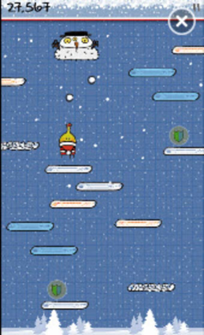 Doodle Jump voor Windows Phone 7