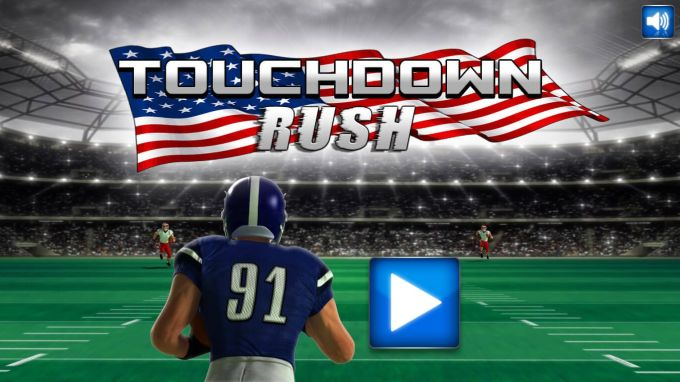 American Football Touchdown Rush