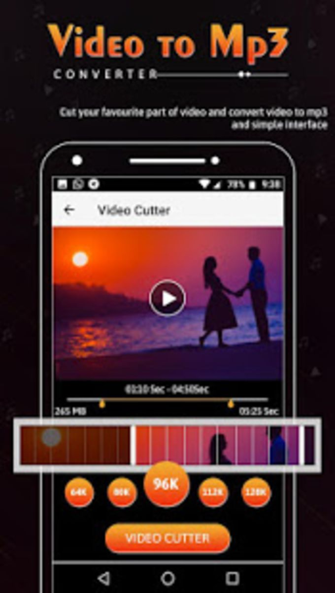 Video to Mp3 Converter Ringtone Maker Add Music for Android