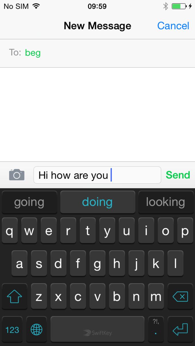 SwiftKey Keyboard für iOS 8