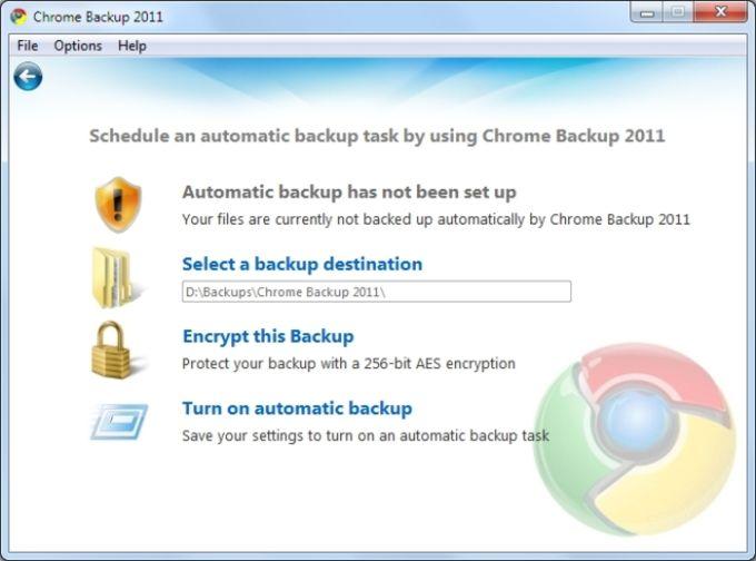 zebNet Chrome Backup 2012 - Download
