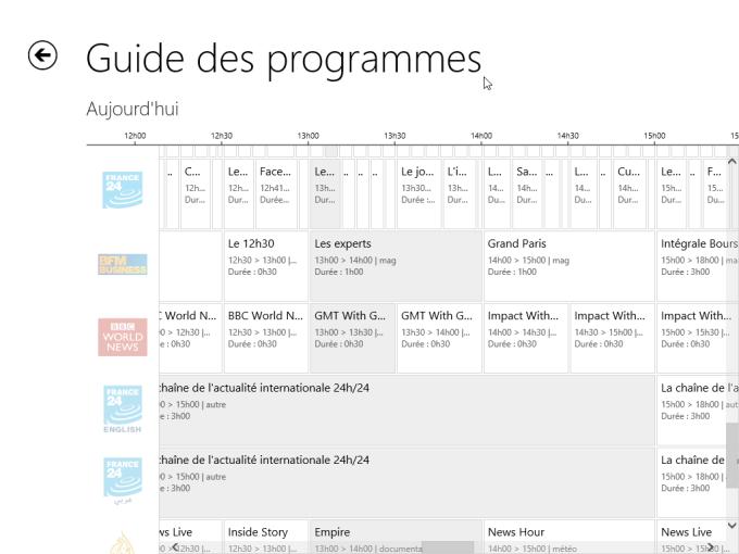 TV d'Orange pour Windows 10