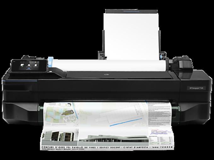 HP DesignJet T120 Printer drivers