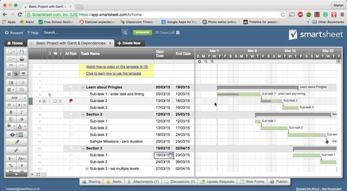 Smartsheet Online