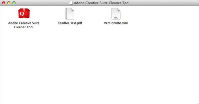 Adobe Creative Suite Cleaner Tool