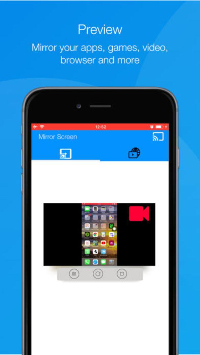 Screen Mirroring for SamsungTV
