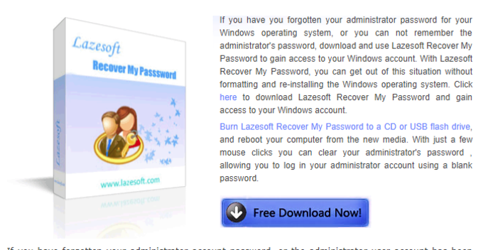 Lazesoft Recover My Password