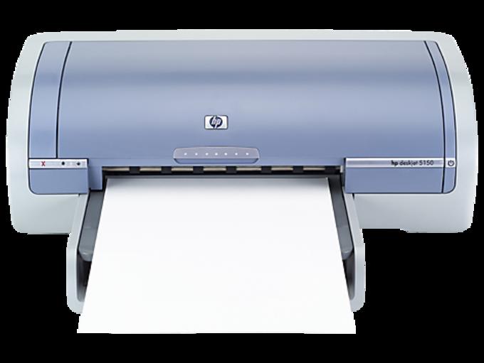 HP Deskjet 5150 Color Inkjet Printer drivers