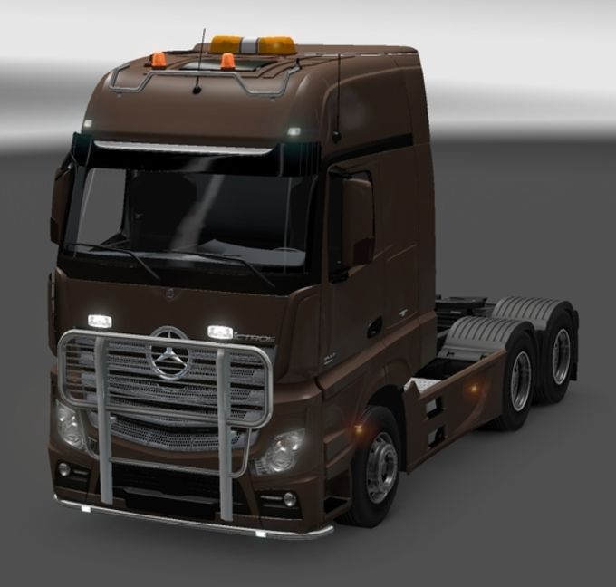Euro Truck Simulator 2 Mercedes-Benz Actros MP4