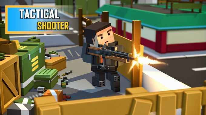 Fort Craft Battle Royale 3D