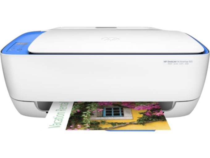 HP DeskJet Ink Advantage 3635 All-in-One Printer drivers