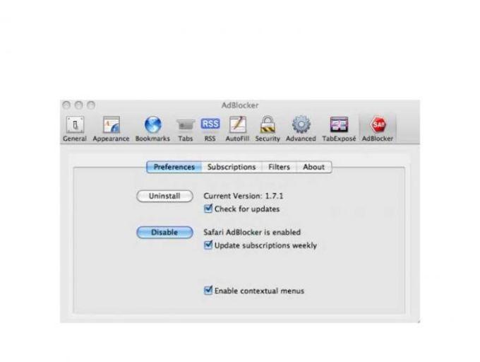 Safari AdBlocker