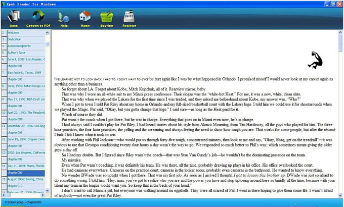 ePUB Reader for Windows