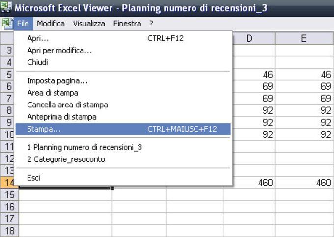 Microsoft Excel Viewer
