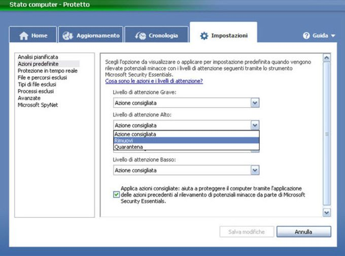 Microsoft Security Essentials Windows Vista / 7