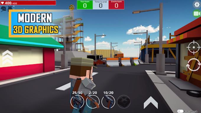 Versus Pixels Battle 3D Unreleased